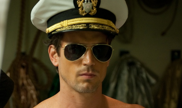 Matt Bomer Gives Serious Face in 'Magic Mike'