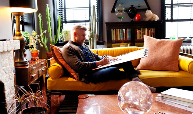 Jewelry Designer Philip Crangi's Home is as Awesome as You'd Imagined