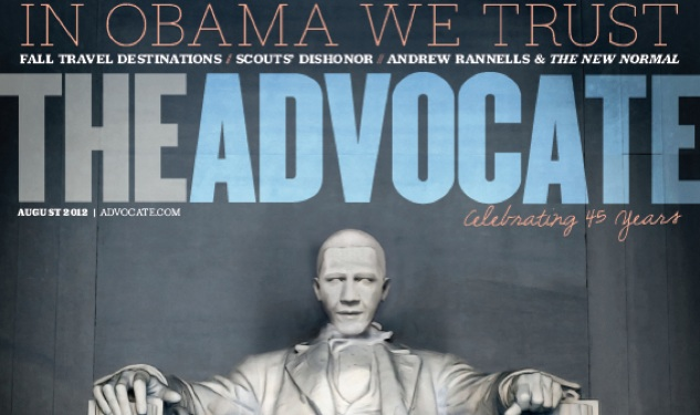 'The Advocate' Endorses President Obama for a Second Term