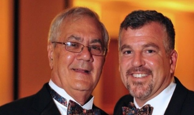 Barney Frank and James Ready Wed