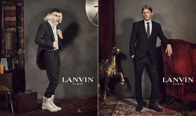 Lanvin Used 'Real' Guys for Its Fall Ads