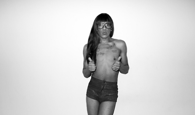 Mykki Blanco Takes The Stage