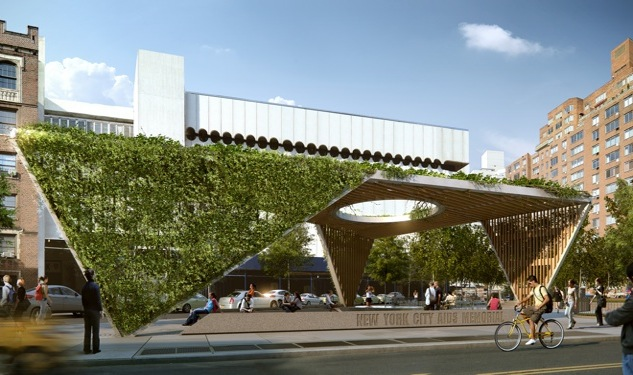 Design Plans for New AIDS Memorial Park Approved