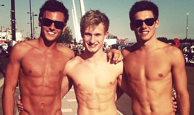 We're Celebrating the Olympics With Pictures of Shirtless Divers