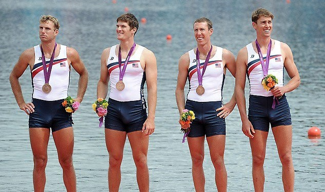 This Olympic Rower Seems Really Excited About His Medal
