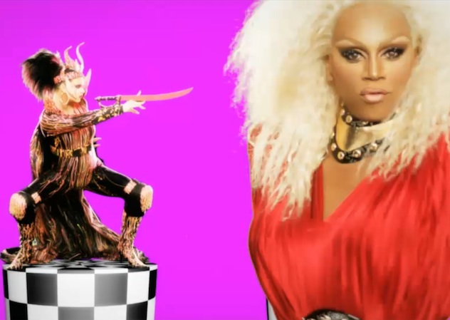 Rupaul Out Of Drag The All Star Queens of...