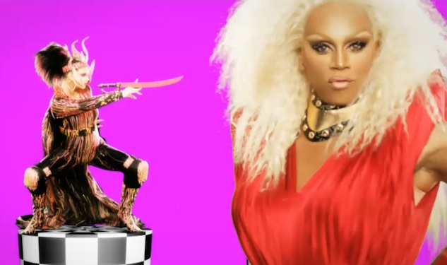 The All Star Queens of RuPaul's Drag Race