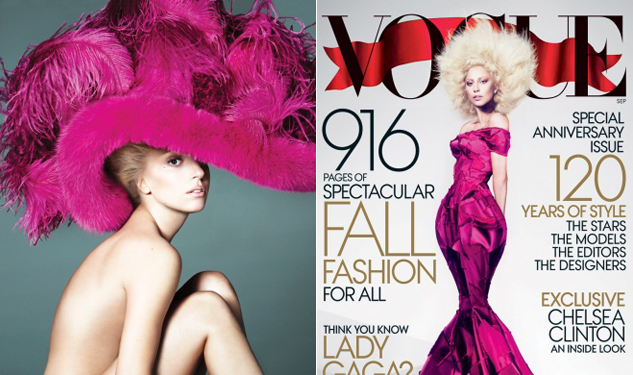 'Vogue' Unveils Their Lady Gaga Cover
