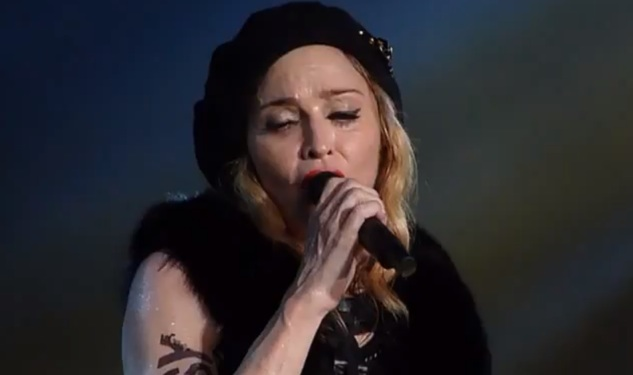 Madonna Forgives Elton (Kind Of)