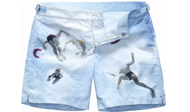 "Orlebar Brown Releases ""Underwater"" Trunks"