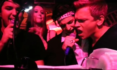 See Nick Gruber & Peter Brant II Attempt Some Karaoke