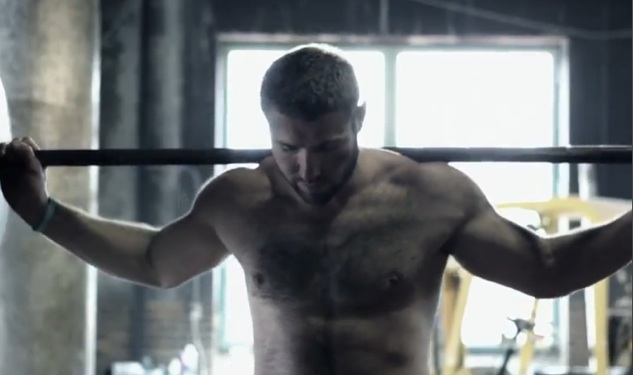 WATCH: Ben Cohen Strip for Charity