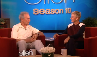 Clint Eastwood Talks Same-Sex Marriage, 'Obama Chair Speech' With Ellen