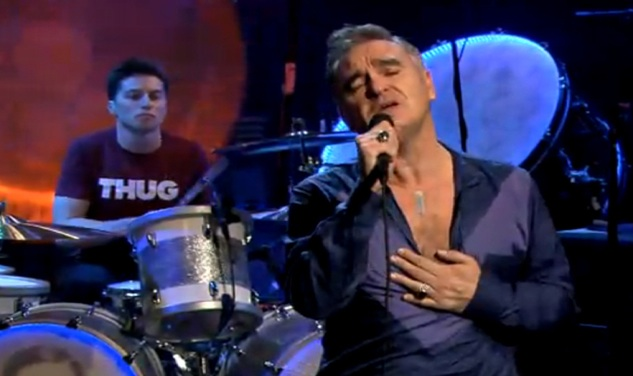 WATCH: Morrissey Perform on 'Late Night With Jimmy Fallon'
