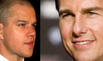 Tom Cruise and Matt Damon Get Spanked
