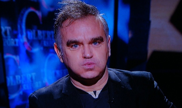 WATCH: Morrissey on 'Colbert Report'