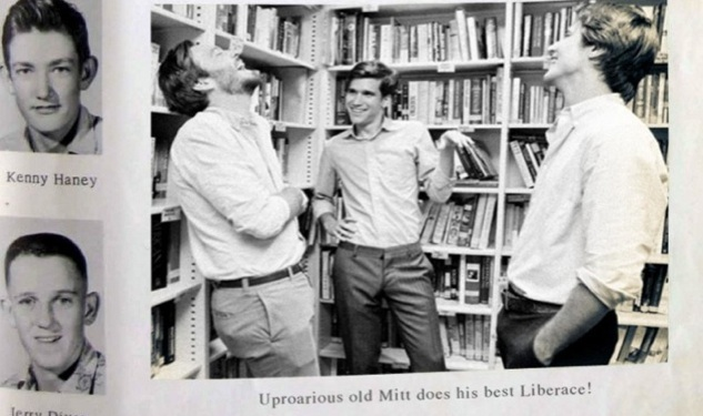 See (Young) Mitt Doing His 'Best Liberace'