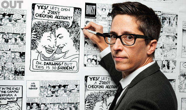 Out100: Alison Bechdel