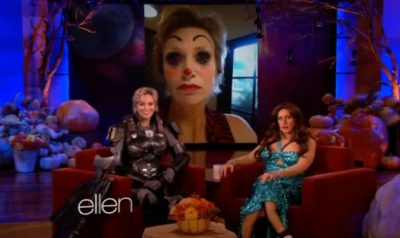 Jane Lynch Shows Her Halloween Costume on 'Ellen'
