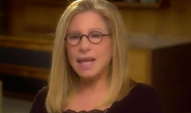 WATCH: Barbra Streisand Explains Why Obama Must Win
