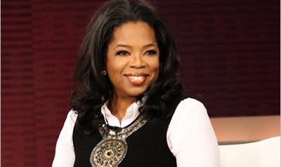 Oprah Back to Play Santa