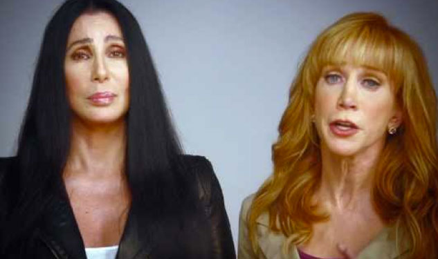 WATCH: Cher, Kathy Griffin Tell the Truth About Mitt Romney
