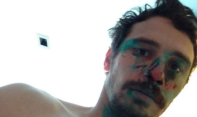 LOOK: James Franco Is Now a Nude Body Painter