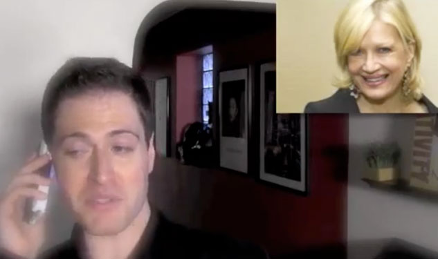 Diane Sawyer Drunk Dials Randy Rainbow