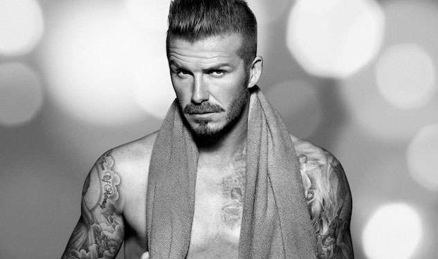 David Beckham's Sexy Holiday Campaign