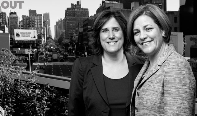 Out100: Kim Catullo & Christine Quinn