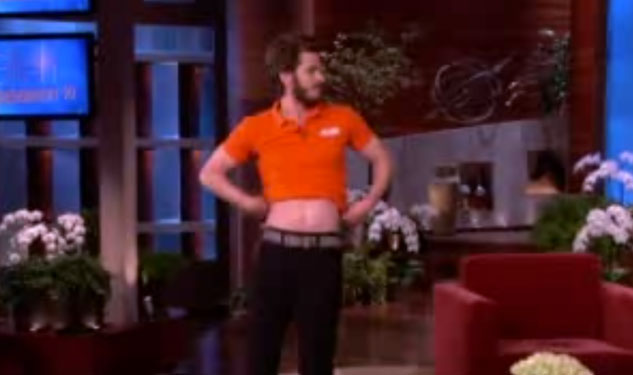 WATCH: Andrew Garfield Dances For Ellen