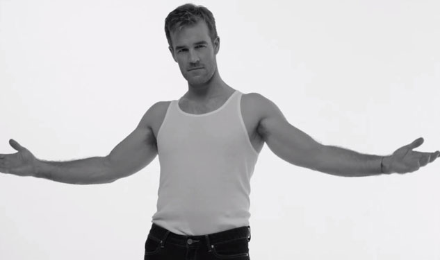 James Van Der Beek's Bareback Ride