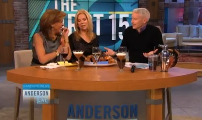 Anderson Cooper: 'I'm More of a Stuffing Man'