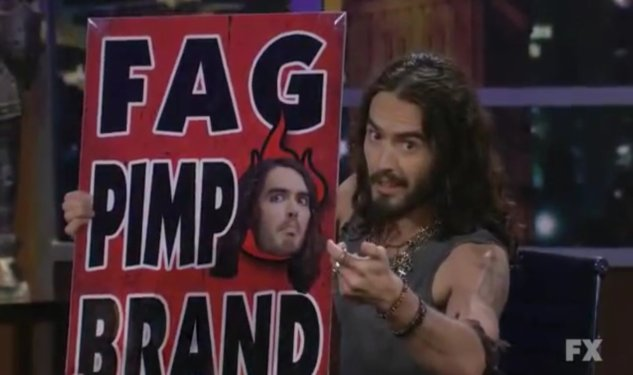 Russell Brand Interviews Westboro Baptist Church—Sort-Of