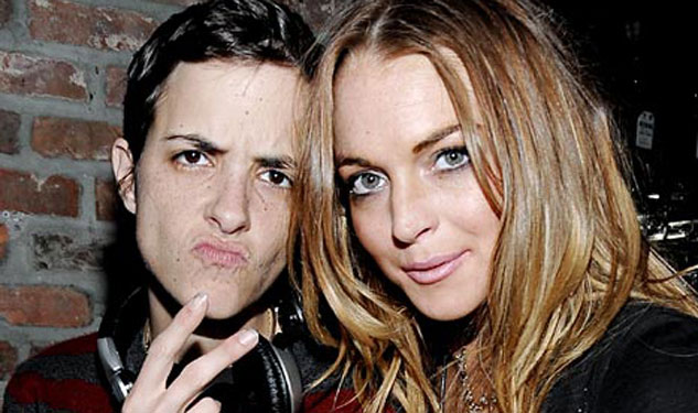 Lindsay Says She and Samantha Ronson Are Toxic