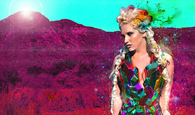 Ke$ha is an Exploring 'Warrior'
