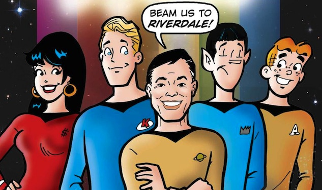 George Takei Meets Archie Comics