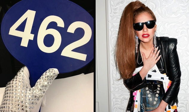 Lady Gaga Goes on a Shopping Spree
