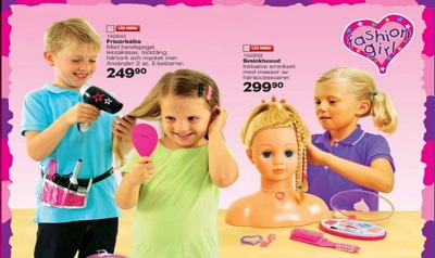 Gender-Neutral Swedish Toys 'R' Us Catalog