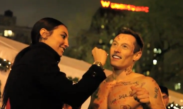 "WATCH: Davey Wavey ""Naked"" In New York"