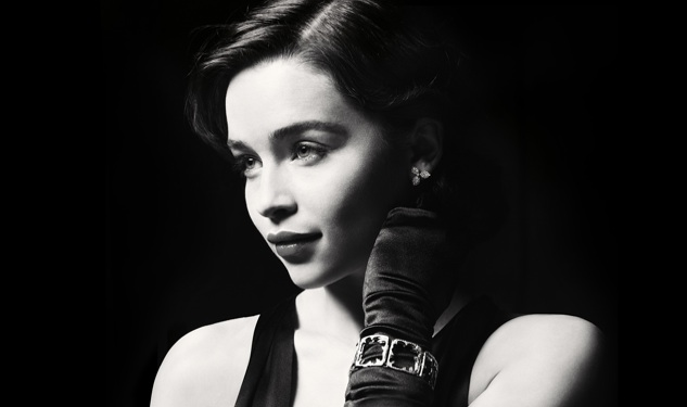 First Look: Emilia Clarke as Holly Golightly