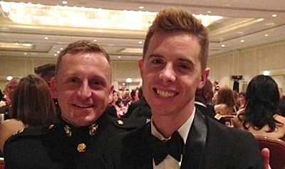 WATCH: The Marine Who Proposed to His Boyfriend at The White House