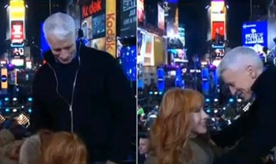 Kathy Griffin Does More Than Make Anderson Cooper Giggle