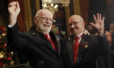 Maryland Rings in New Year With Same-Sex Weddings