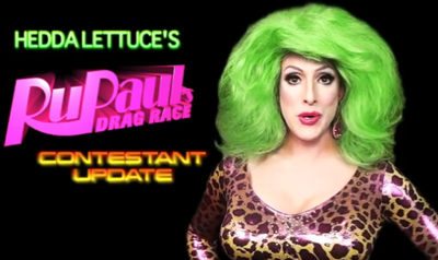 When Drag Queens Attack: Hedda Lettuce's 'RuPaul's Drag Race' Season 5 Update