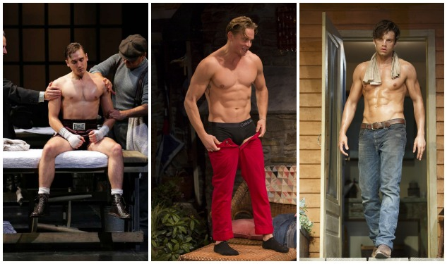 Broadway Bodies: Seth Numrich vs. Billy Magnussen vs. Sebastian Stan