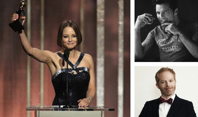 Celebs React to Jodie Foster's Golden Coming Out Speech
