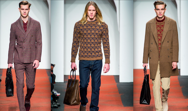 The (Fashion) Show Must Go On: Missoni Fall/Winter 2013 Menswear