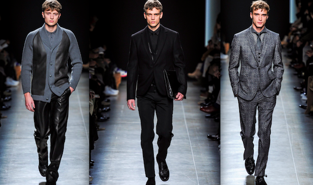 Bottega Veneta Goes Film Noir With Its Fall/Winter 2013 Menswear