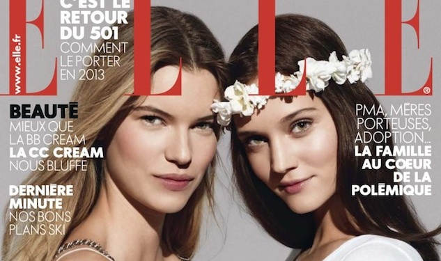 French ELLE Says Marriage For ALL